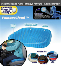 Load image into Gallery viewer, PostureCloud Spinal Alignment Comfort Cushion - TuneUpTrends.com