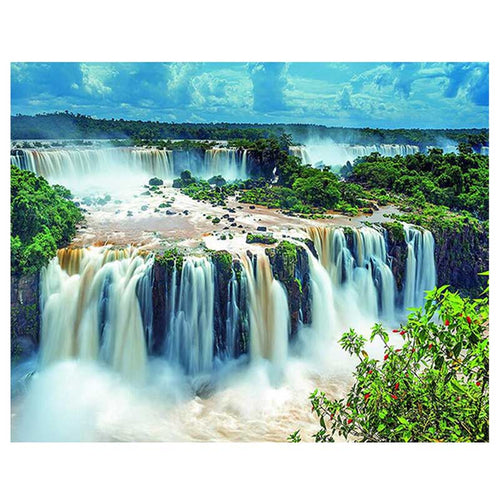 Waterfall  5D Diamond Painting Landscape