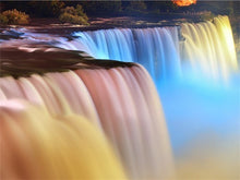 Load image into Gallery viewer, Waterfall  5D Diamond Painting Landscape