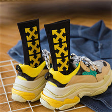 Load image into Gallery viewer, Trendy Pride Yellow Socks Streetwear - TuneUpTrends.com