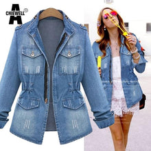 Load image into Gallery viewer, American Apparel Women Denim Jacket - TuneUpTrends.com