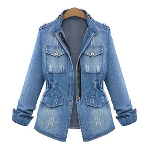 American Apparel Women Denim Jacket - TuneUpTrends.com