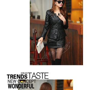 2018 Women Casual Long Sleeve Faux Short Coat - TuneUpTrends.com