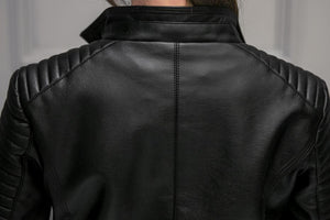 Fitaylor Biker Faux Leather Jacket - TuneUpTrends.com
