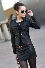 Load image into Gallery viewer, Orwindny Fashion Women Leather Jacket 2018 - TuneUpTrends.com
