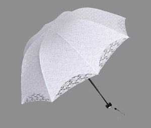 Parasol Umbrella For Wedding Girls Princess - TuneUpTrends.com
