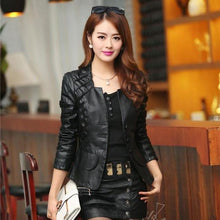 Load image into Gallery viewer, 2018 Women Casual Long Sleeve Faux Short Coat - TuneUpTrends.com