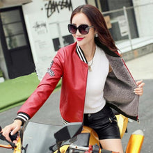 Load image into Gallery viewer, Motocycle Jacket Faux Sheepskin Coat - TuneUpTrends.com
