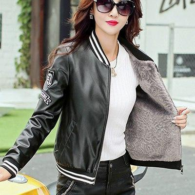 Motocycle Jacket Faux Sheepskin Coat - TuneUpTrends.com