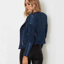 Load image into Gallery viewer, 2018 PU + Suede Faux Leather Jackets - TuneUpTrends.com