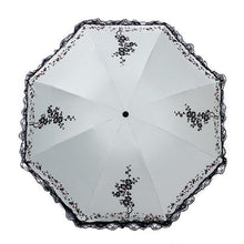 Load image into Gallery viewer, 6 Colors Parasol lace three folding umbrella - TuneUpTrends.com