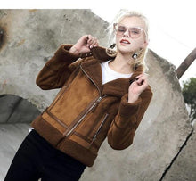 Load image into Gallery viewer, 2018 Faux Shearling Sheepskin Coats - TuneUpTrends.com
