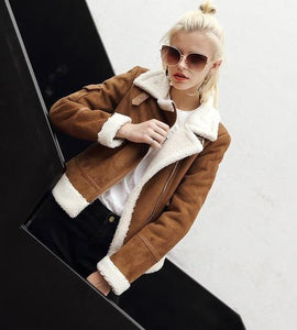 2018 Faux Shearling Sheepskin Coats - TuneUpTrends.com