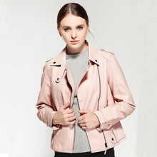 Load image into Gallery viewer, 2018 Spring Autumn PU Leather Faux Jacket - TuneUpTrends.com
