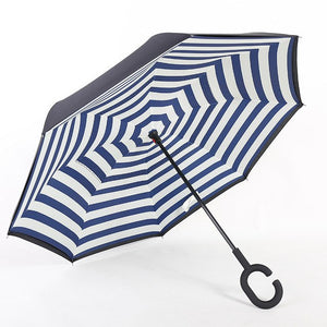 Double Layer Reverse Folding Umbrella - TuneUpTrends.com
