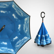 Load image into Gallery viewer, Double Layer Reverse Folding Umbrella