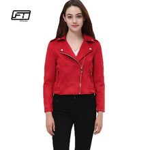 Load image into Gallery viewer, Fitaylor Women Suede Faux Leather Jackets - TuneUpTrends.com