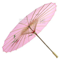 Load image into Gallery viewer, Art Deco Painted Parasol Umbrella - TuneUpTrends.com