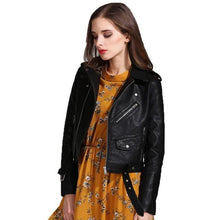 Load image into Gallery viewer, Ly Varey Lin Faux Soft Leather Jacket - TuneUpTrends.com