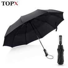 Load image into Gallery viewer, Luxury Big Windproof Parasol Umbrellas - TuneUpTrends.com
