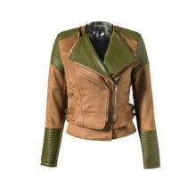 Load image into Gallery viewer, Lily Rosie Girl Faux Leather Jacket - TuneUpTrends.com
