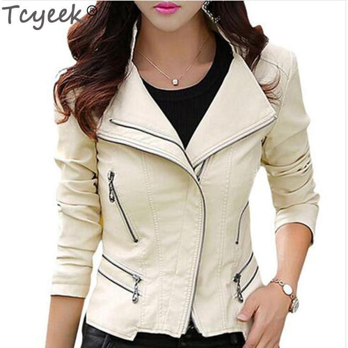 Tcyeek Winter Women Leather Coat - TuneUpTrends.com