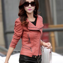 Load image into Gallery viewer, Tcyeek Winter Women Leather Coat - TuneUpTrends.com