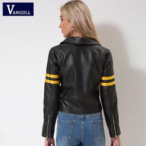 Cool Streetwear Black Faux leather jackets - TuneUpTrends.com
