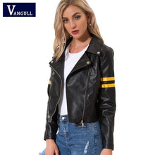 Load image into Gallery viewer, Cool Streetwear Black Faux leather jackets - TuneUpTrends.com