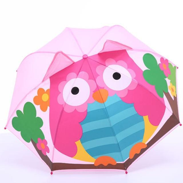Cartoon Patterns Umbrellas Kids Boys Girls Paraguas Parasol - TuneUpTrends.com