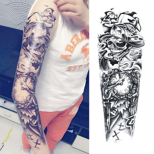 Arm Tattoo Sticker - TuneUpTrends.com