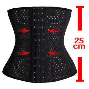 Hot Body Shaper Waist Trainer Belt Steel Boned Corset - TuneUpTrends.com