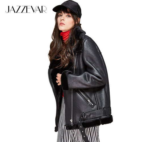Street Fashion Women's PU leather jacket - TuneUpTrends.com