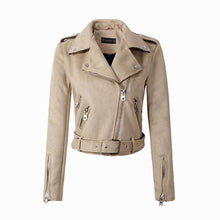 Load image into Gallery viewer, Down Colors Suede Faux Leather Jacket - TuneUpTrends.com