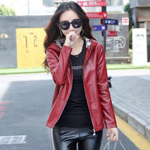 Load image into Gallery viewer, Women's Leather Jacket M-3XL 2018 - TuneUpTrends.com