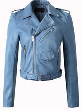 Load image into Gallery viewer, Ly Varey Lin Women Faux Soft Leather Jacket - TuneUpTrends.com