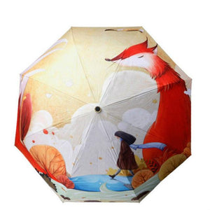 Oil Painting Parasol Gift For Kids - TuneUpTrends.com