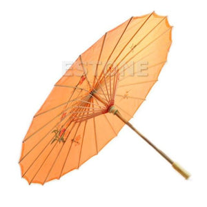Art Deco Painted Parasol Umbrella - TuneUpTrends.com