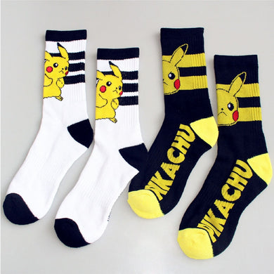 New Arrival Japanese Cute Cartoon Pokemon Compression Socks