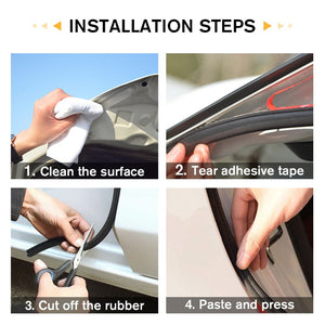 Car Door Seal Strip - TuneUpTrends.com