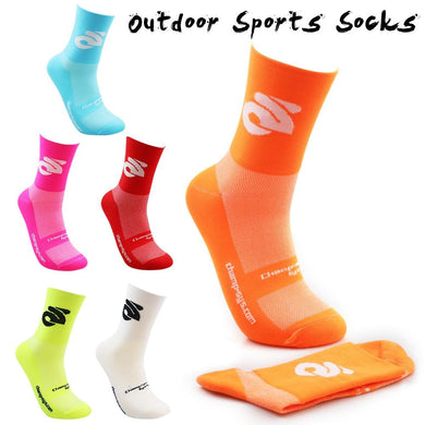 Professional Cycling Compression Sports Socks