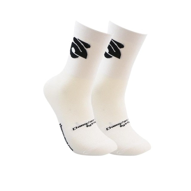 Professional Cycling Compression Sports Socks - TuneUpTrends.com