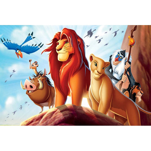 King Of Lion 3D Diamond Painting Cross Stitch