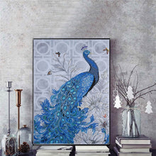 Load image into Gallery viewer, Peacock 5D DIY Diamond Painting - TuneUpTrends.com