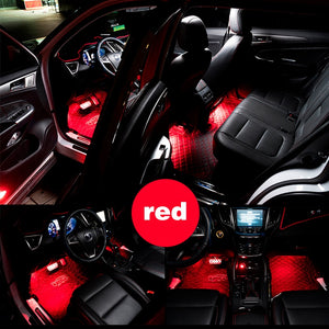 Car RGB LED Strip Interior Light - TuneUpTrends.com