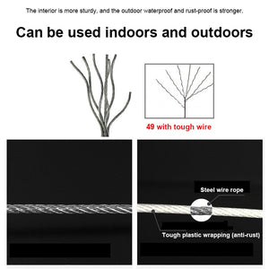 Telescopic Stainless String Invisible Clothesline - TuneUpTrends.com