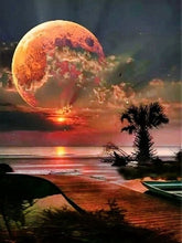 Load image into Gallery viewer, Moon Rhinestones Diamond painting - TuneUpTrends.com