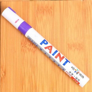 Water Proof, Non-Fading Tyre Paint Pen - TuneUpTrends.com