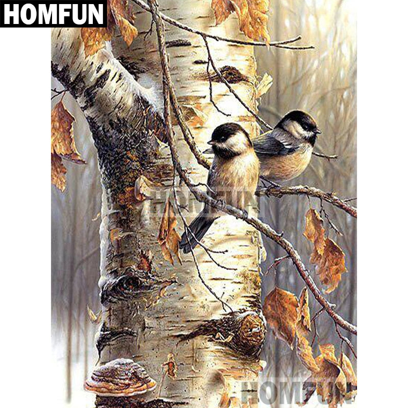 Autumn Bird Diamond Painting Art - TuneUpTrends.com