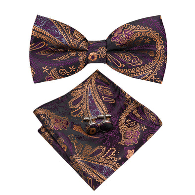 Dancing Dragon Bow Tie Set